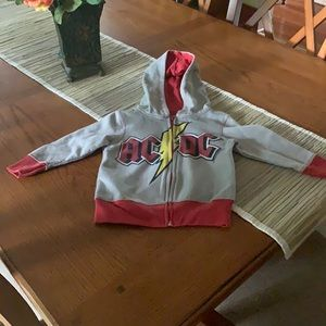 AC/DC hoodie, size 3T